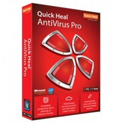 Quick Heal Antivirus Pro Latest Version 1 PC 1 Year