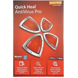 Quick Heal Antivirus Pro Latest Version (2 PC/1 Year)