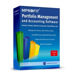 MProfit Advisor 100 - Portfolio Management Software for Financial Advisors