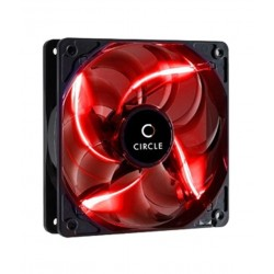 Circle Stay Cool C-12 120mm Red Led Case Cabinet Fan