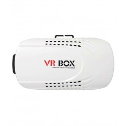 VR Box Google Cardboard Inspired Virtual Reality 3D Glasses - Black