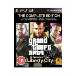 GTA Pack ( GTA IV + GTA Episodes from Liberty City ) PS3