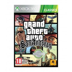 Grand Theft Auto : San Andreas Xbox 360