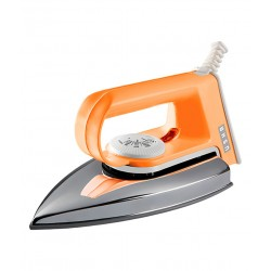 Usha El 2102 Teflon 1000W Dry Iron-Orange