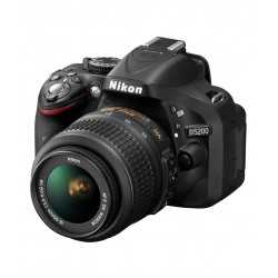 Nikon D5200 with 18-55mm Lens + 55-200mm