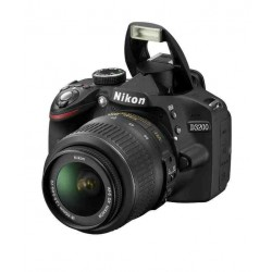Nikon D3200 with 18-55mm Lens + 55-200mm Lens Combo