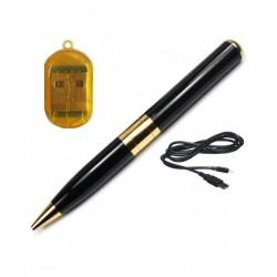 Varni 5MP Spy Pen Hidden Camera with free Card Reader