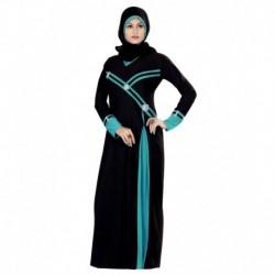 Triveni Black Lycra Burqas