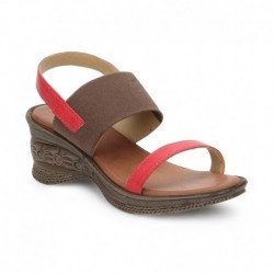 Lavie Red Sandals