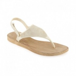 Shoe Lab White Sandals