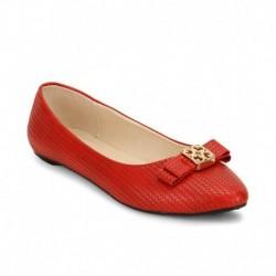 American Swan Bay Red Ballerinas
