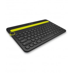 Logitech k480 Bluetooth External Keyboard Black - For Tablets, Mobiles, Laptops & Desktops