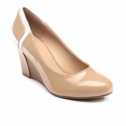 Inc.5 Beige Formal Slip-on