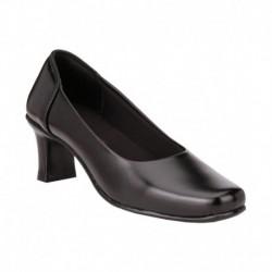 Real Blue Black Block Formal Shoes