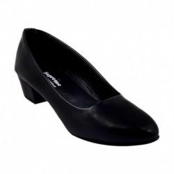 K A Enterprise Black Formal Shoes