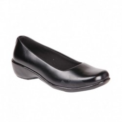 Feel It Black Wedges Formal Shoes