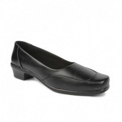 Ananya Black Formal Shoes
