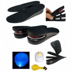 Sangaitap 6cm Air Cushioned Height Increasing Insoles + Led Balloon + Led Candle