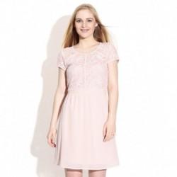 Vero Moda Peach Whip Skater Dress
