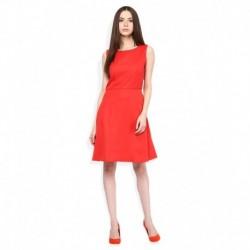 United Colors of Benetton Red Skater Dress