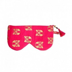 Needlecrest Pink Sunglass Pouch
