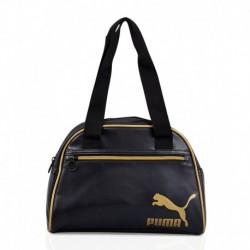 Puma Gold Black Handbag