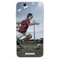 ezyPRNT Skin Sticker for Lava Iris X1 - Soccer