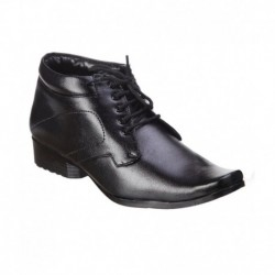 Kraasa Black Formal Shoes