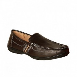 Bata Brown Loafers