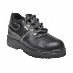 Tek-Tron Black Safety Shoes
