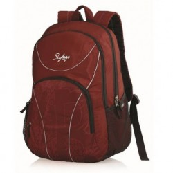 Skybags Beetle Red 25 Litres Laptop Compatible Backpacks