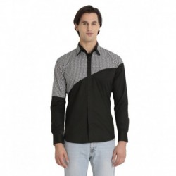 Baist Masters Black Cotton  Shirt