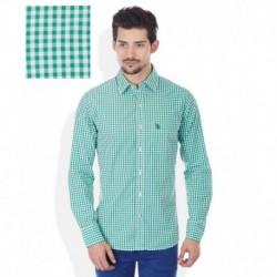 U.S. Polo Assn. Green Slim Fit Shirt