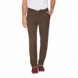 Mufti Green Casual Trouser