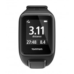 TomTom Spark Cardio + Music GPS Fitness Watch - Black