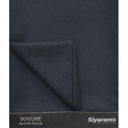 Siyaram Blue Cotton Blend Unstitched Pant Piece