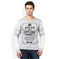 United Colors Of Benetton Grey Sweatshirt