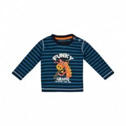 Gini & Jony Blue Half Sleeves T Shirts