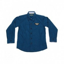 ni & Jony Full Sleeves Midnight Navy Shirt For Kids