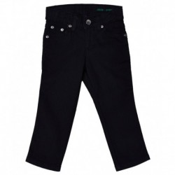 United Colors of Benetton Navy Cotton Trousers