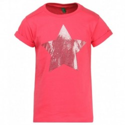 United Colors Of Benetton Pink Printed T-Shirt