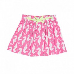 Gini & Jony Pink Cotton Skirt
