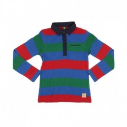 United Colors Of Benetton Multicolored Striped Polo T-Shirt