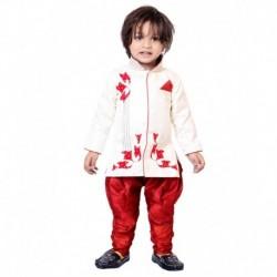 Tiny Toon Red Kurta Pajamas For Boys