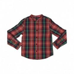 United Colors Of Benetton Multicolored Mandarin Collar Shirt
