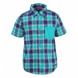 Bells and Whistles Green Half Sleeves Shirt