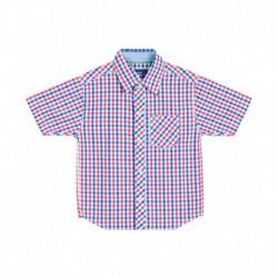 612 League Blue Half Sleeve Shirt