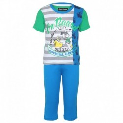 SDL By Sweet Dreams Green & Blue Clothing Set