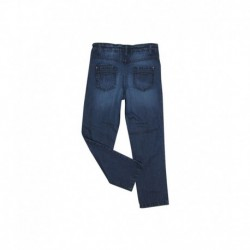 Ello Blue Color Washed Jeans For Kids