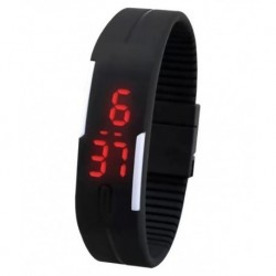 Hacsona Black Digital Watch